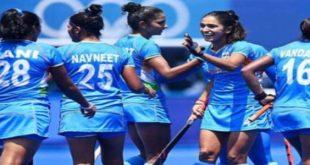 महिला हॉकी में 4-3 से भारत ने साउथ अफ्रीका को हराया