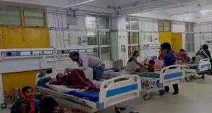 मायागंज अस्पताल में शिशु मरीज कि बढ़ रही है संख्या, स्वास्थ्य सुविधा में लापरवाही का आरोप